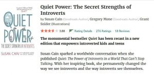 quiet power book