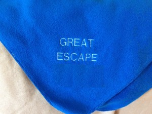 great escape blanket blank