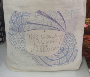 ge 2015 lesley zentangle bag